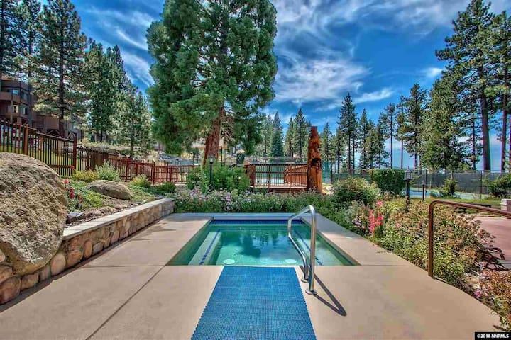 Lake Village Remodel Condo with Pool & Hot tub: MV55