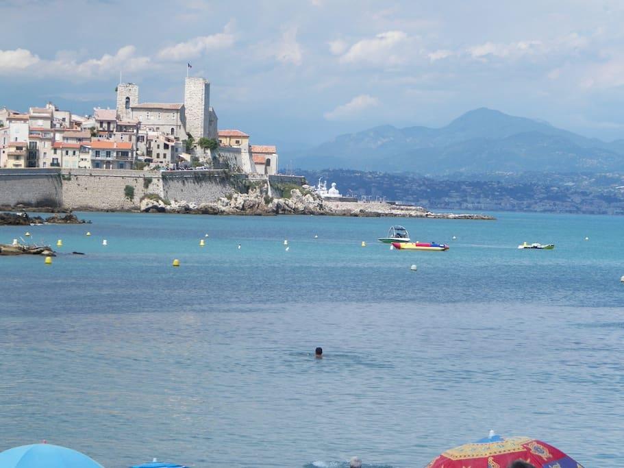 Spectacular seaview on Antibes