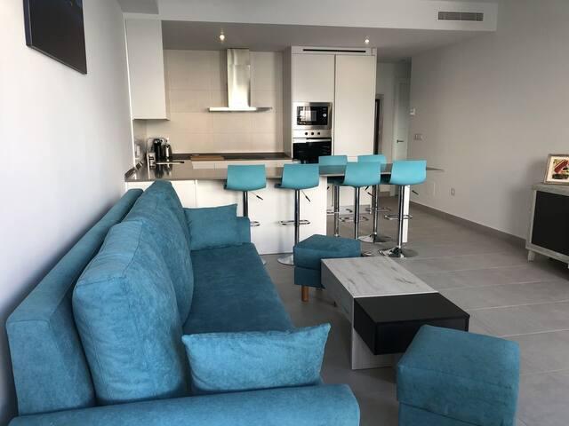 Modern and elegantly presented 3 bed 2 bath villa
