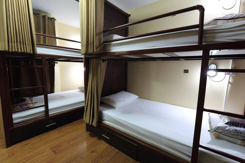 Feature bunk beds