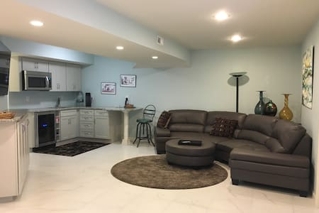 From $74 - Modern Basement Apart, private entrance