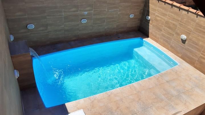 Casa 1, wi fi, ar condicionado, em Mongaguá
