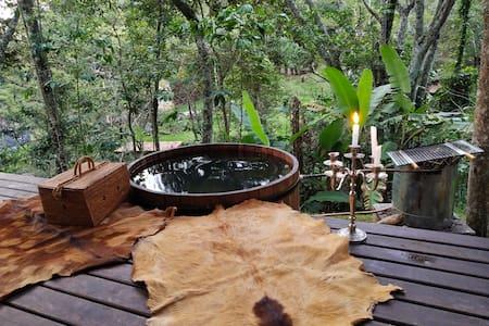 Chale Luz - self service spa
