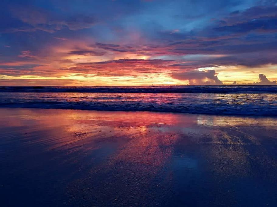 the best sunset u can have in Borneo
