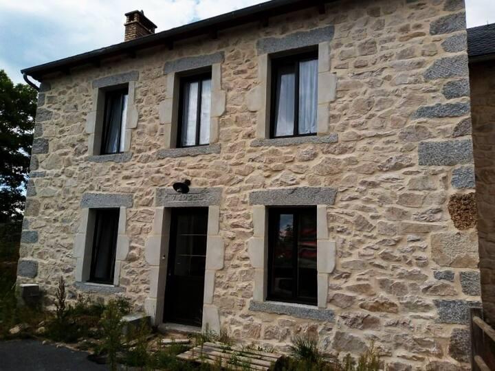Maison joliment rénovée entre Margeride et Aubrac