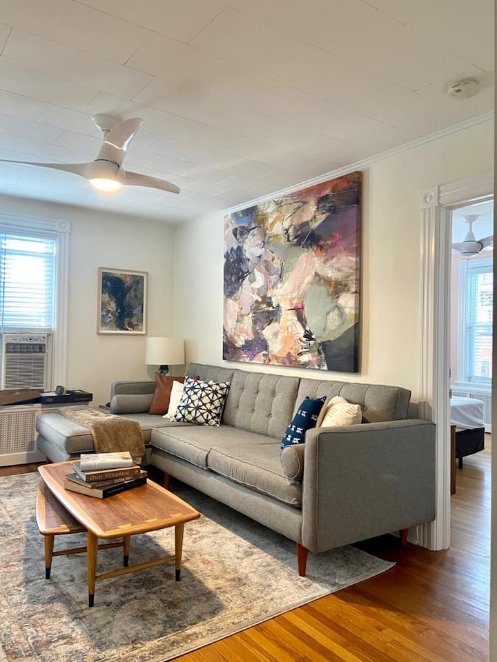 Spacious Beach Apt - Close to Beach & Asbury Park