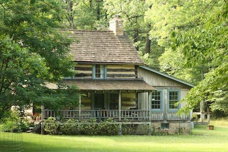 Restored Mountain Log House - Rector - Ev