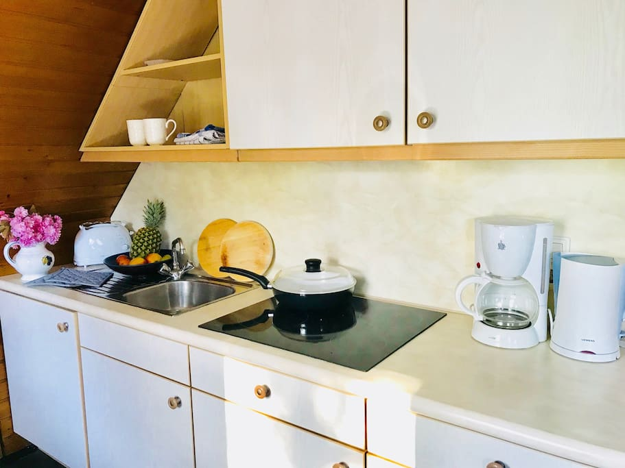 Vollausgestattete Küche