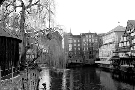 Schönes, stadtnahes & großes Zimmer - Lüneburg - Apartemen