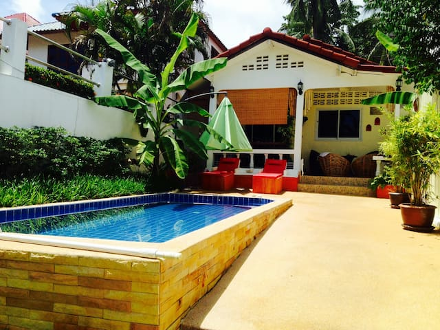 Villa2BR+PrivatePool-Walk To Beach - Ko Samui - House