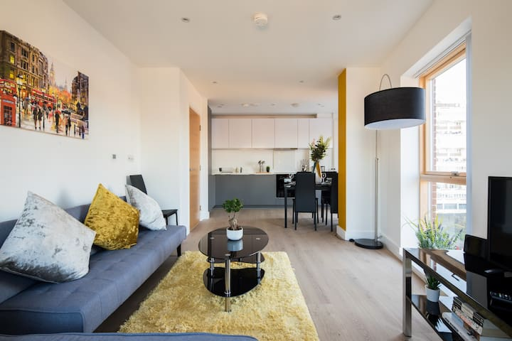 Stylish flat in the heart of Shoreditch