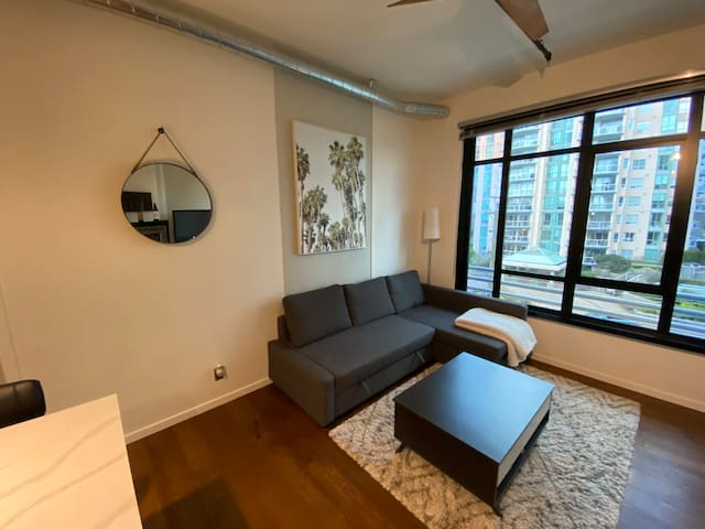 New Downtown 1br with Parking