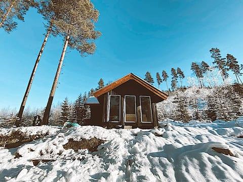 Unik overnatting på Finnskogen