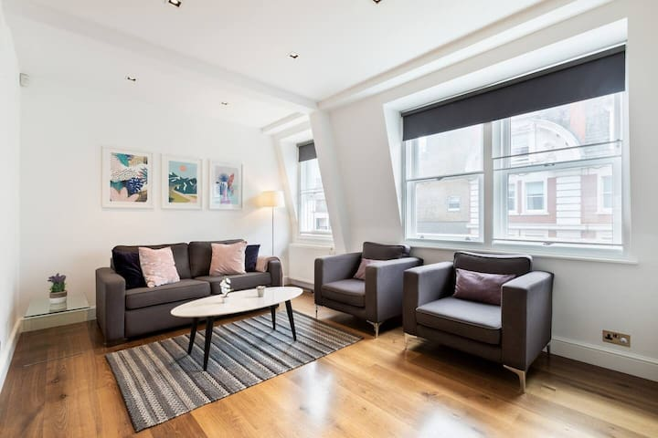 The Heart of Soho - Fitzrovia Area - Lovely 2BR