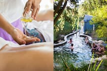 1 hour and 10 minutes by car: The beautiful Peninsula Hot Springs also has various Spa packages you are sure to enjoy.
