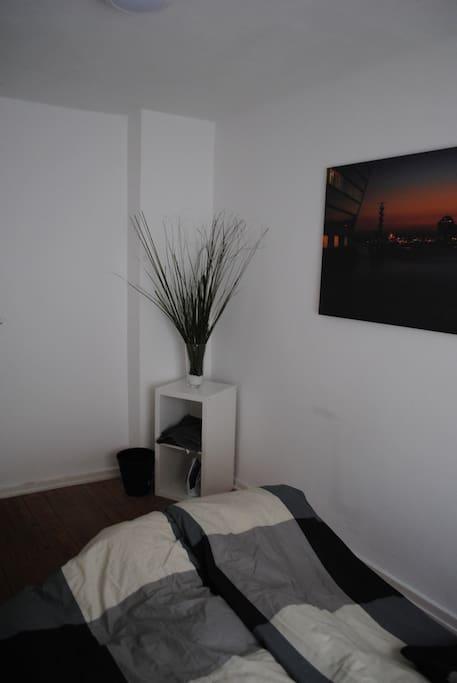 Tastefully styled bedroom