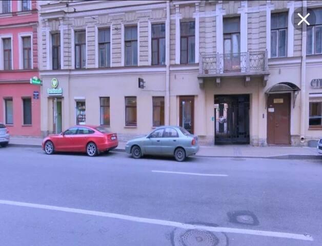 Тихая квартира в центре Петербурга
