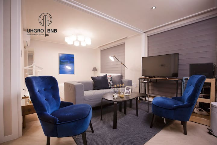 [CUBE.25] House for group in Gangnam [中文&English]