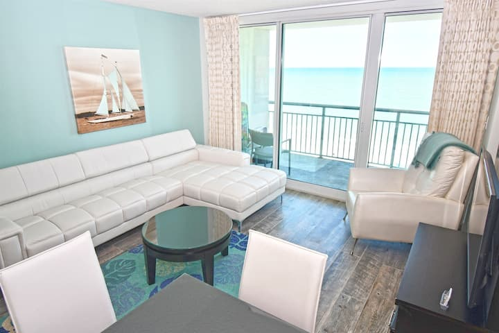⭐Private Modern Direct Oceanfront Beach Boardwalk