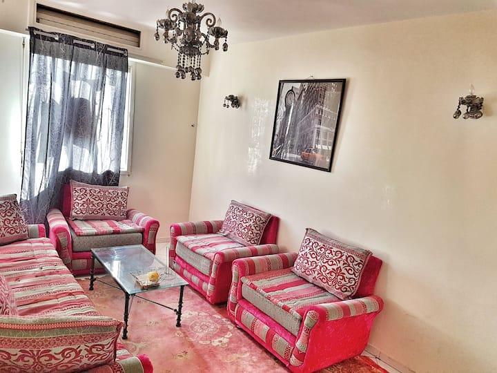 Chambre dans une appartement calme
