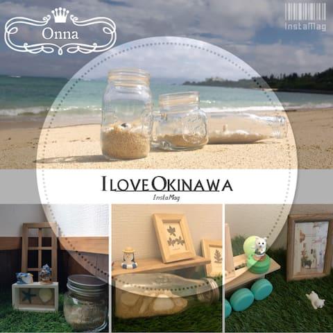 恩納Onna包層3戶(6-18人)徒步1分綺麗沙灘Ocean沖繩恩納濱海渡假公寓,近超商