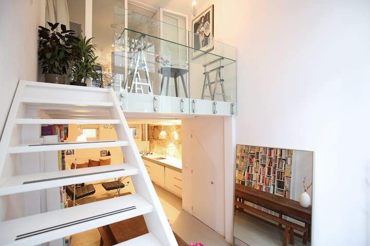 Stylish & quiet space in centre of Amsterdam