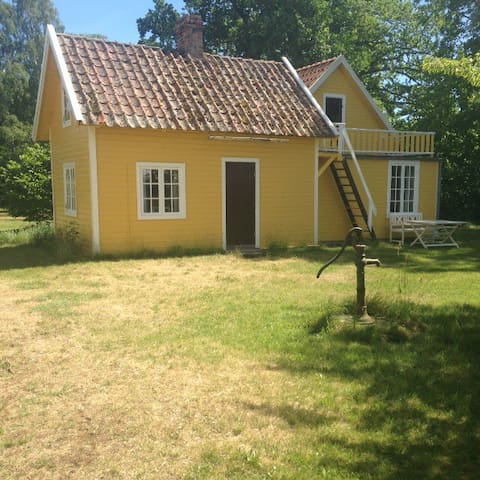 Beautiful villa close to beach in Ljugarn Gotland