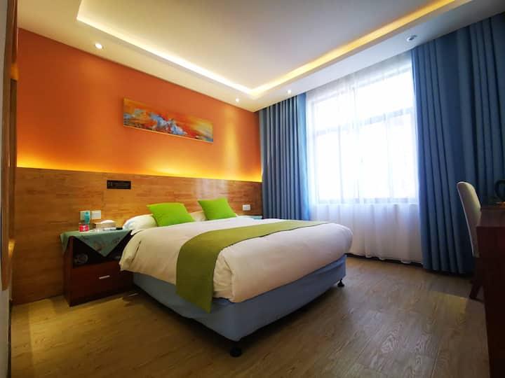 洱海后山大床房2大理美嘉心印海景花园酒店