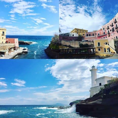 Casa nel mare... House into the sea! - Ventotene - Casa de vacances