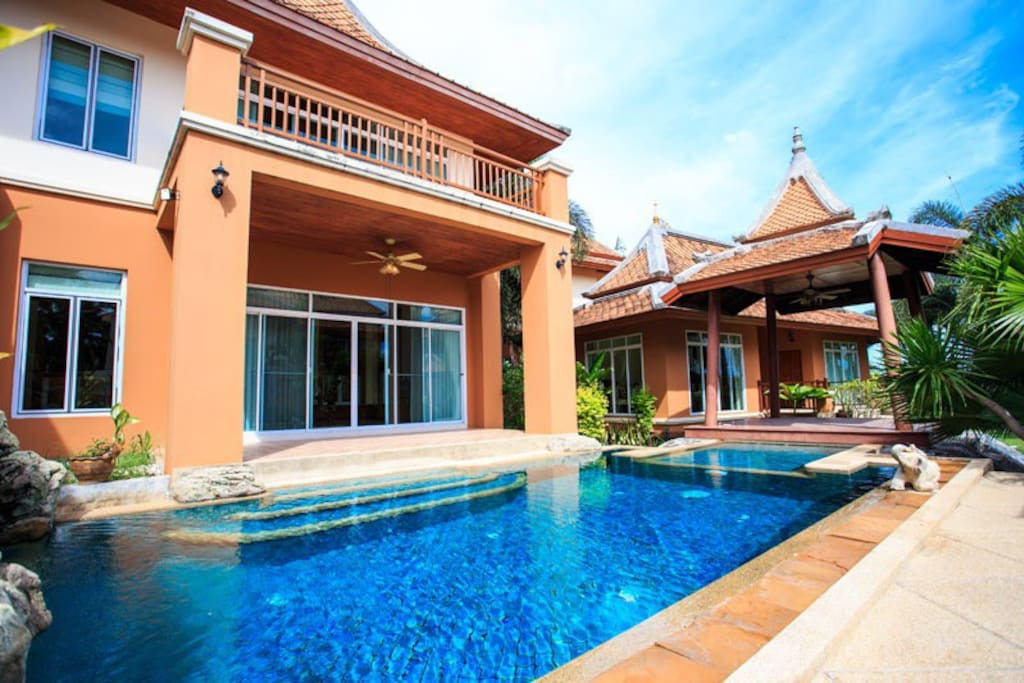 Private pool in every house