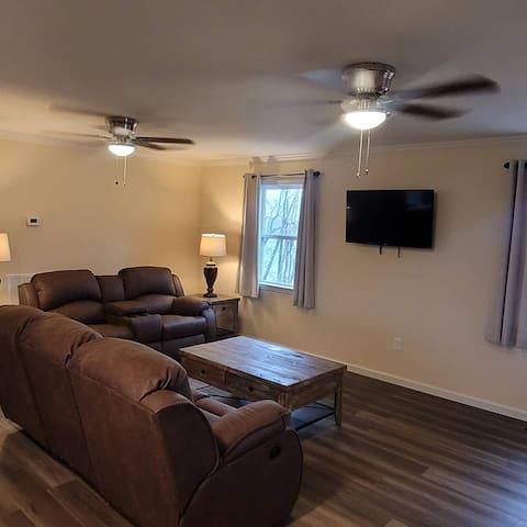 Unit 2 living room.