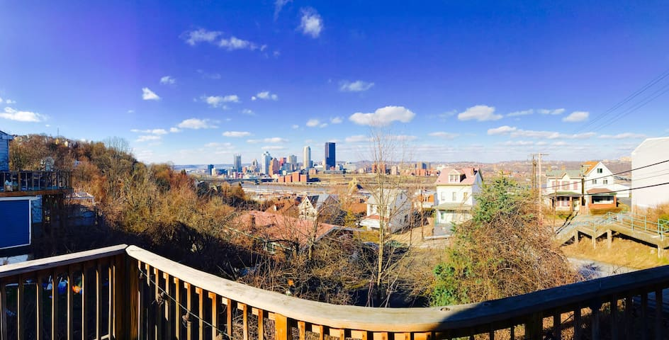 Cozy, Priceless View in Southside Slopes - Pittsburgh - Dom
