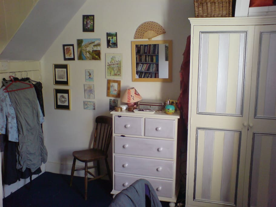Also bedroom but will be tidier for your stay.