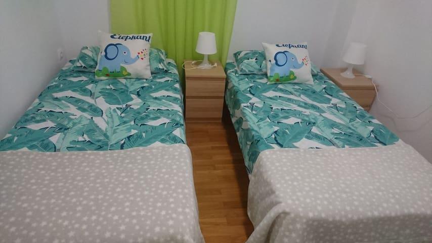 Confortable habitación en el centro de Málaga.