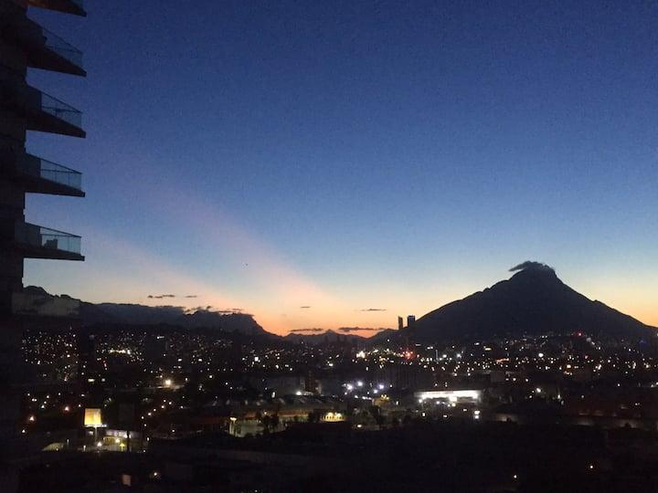 Departamento nuevo con vistas en Monterrey