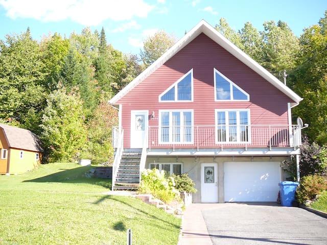 Logement nord de Québec en nature - Stoneham-et-Tewkesbury - Lejlighed