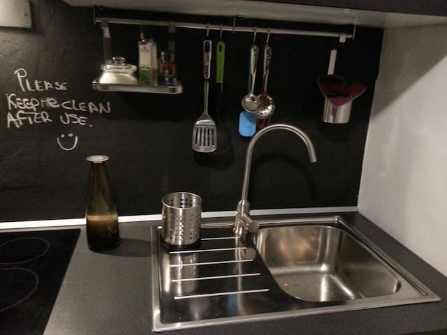 cozy room near city center+kitchen+bathroom - Torino - Leilighet