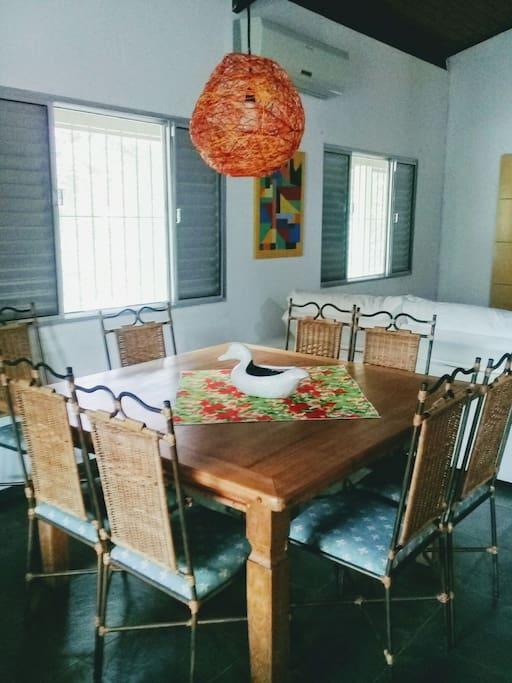 Sala jantar 8 pessoas