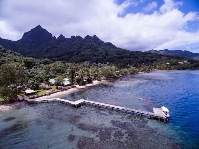 "SEA SIDE VILLA ""LINAREVA-MOOREA"" - Ha'apiti - House"