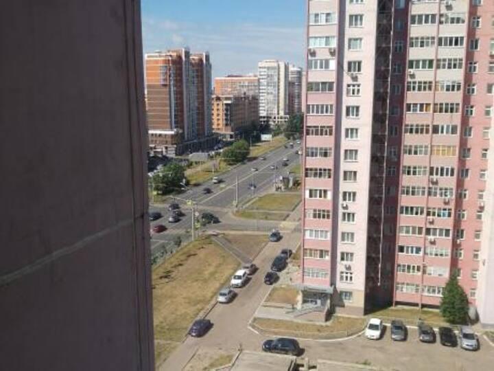 Квартира рядом с набережной реки Казанки