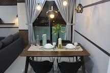 Stylish design dining area