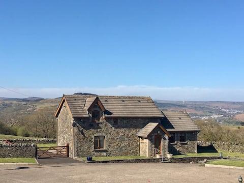 Pintoresca casa de campo galesa cerca de Pontypridd