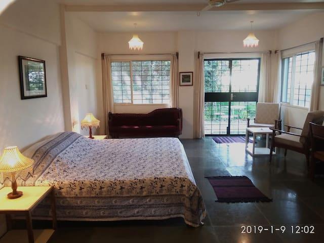 Isai Ambalam - Old Creche - 3Saffron room