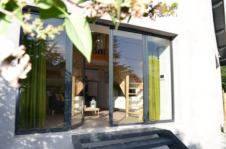 Appartement sur jardin - Saint-Genis-les-Ollières - Apartemen