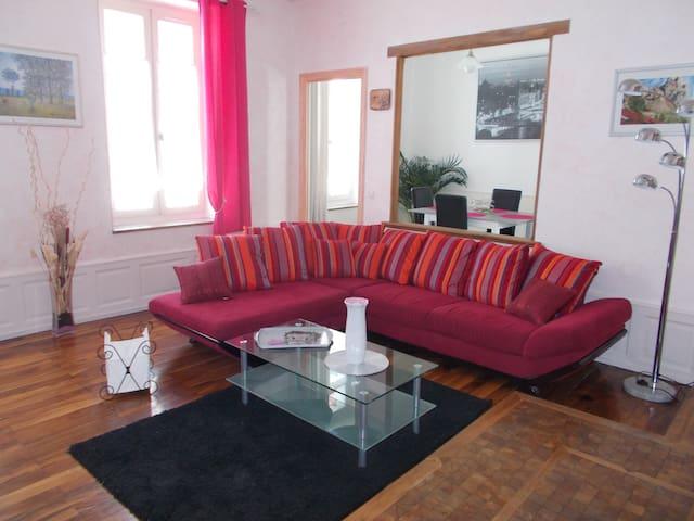 Bel appartement spacieux en centre ville - Gap - Appartement