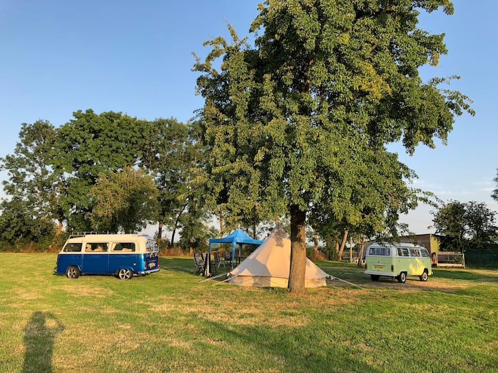 Puddle Wharf Farm Exclusive glamping site