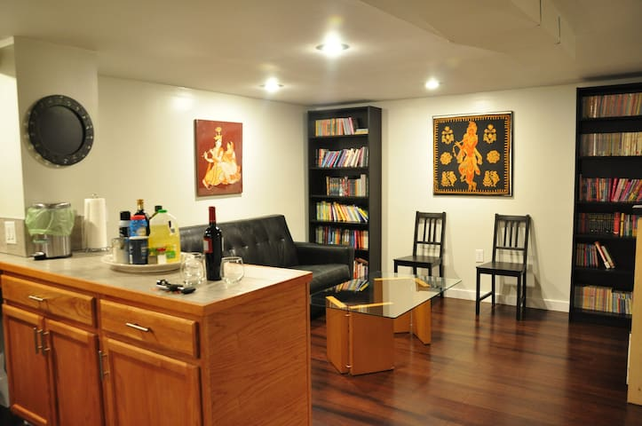 Bright Ballard Accessible 1-Bedroom Basement Apt