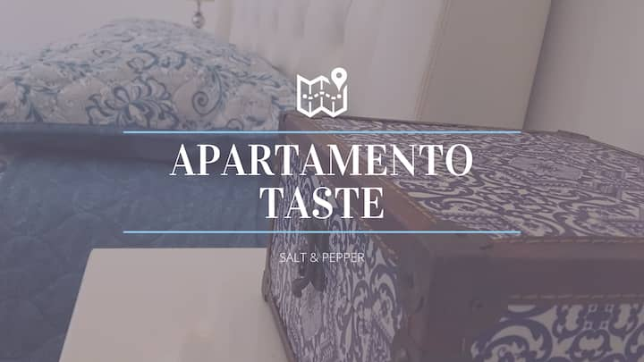 "APARTAMENTO TASTE ""SALT & PEPPER"""