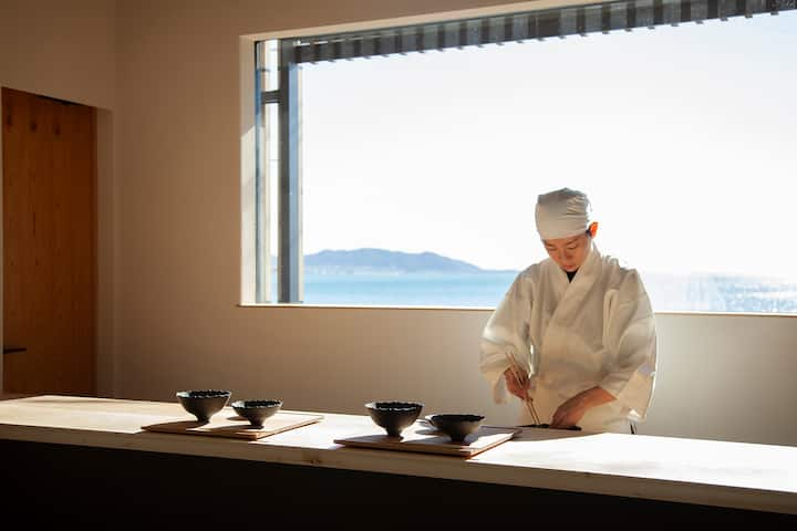 Ocean view Japanese experience stay 1h fromTokyo