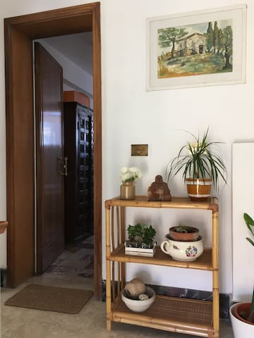 Private ensuite bedroom in Florence